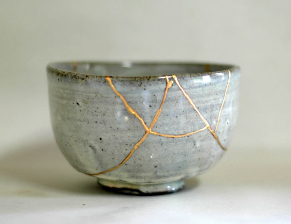 Kintsugi: un vaso rotto sarà più bello di prima